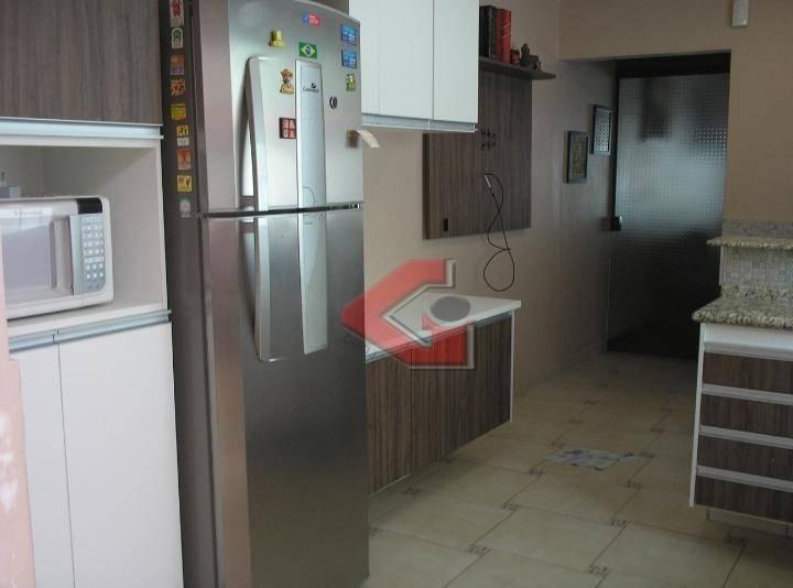sobrado com 2 dormitórios à venda, 154 m² por r$ 527.000 - centro - são bernardo do campo/sp - so1024