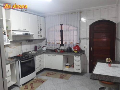 sobrado com 2 dormitórios à venda, 160 m² por r$ 350.000 - jardim terezópolis - guarulhos/sp - so0124