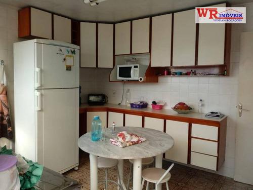 sobrado com 2 dormitórios à venda, 167 m² por r$ 408.000 - vila jerusalém - são bernardo do campo/sp - so0721