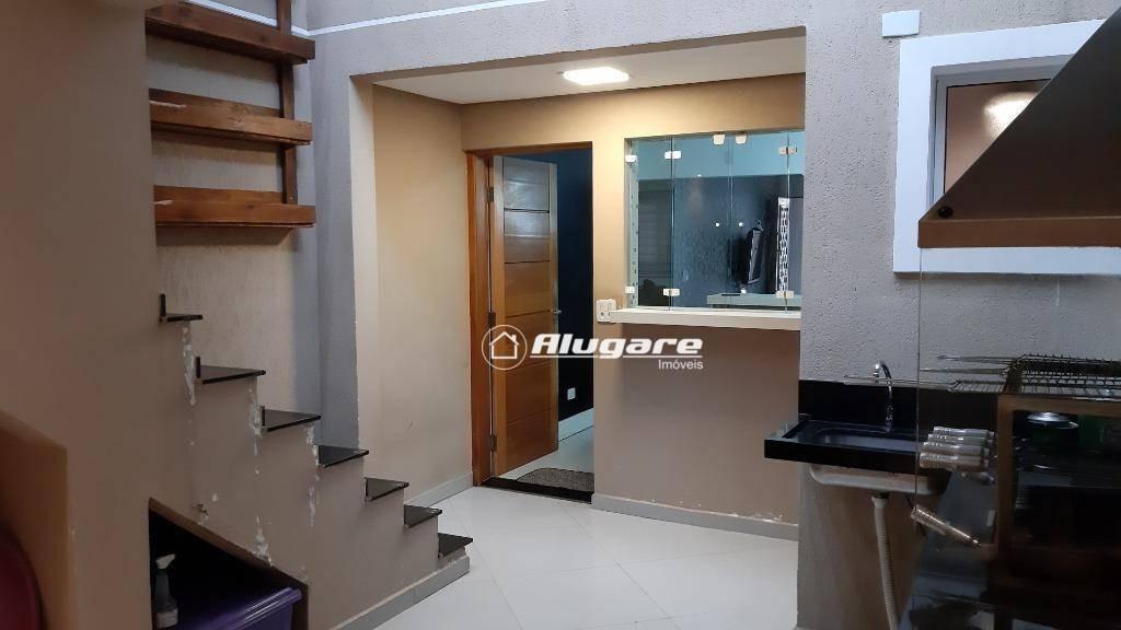 sobrado com 2 dormitórios à venda, 200 m² por r$ 500.000 - jardim santa mena - guarulhos/sp - so0633