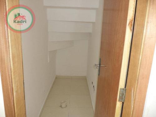 sobrado com 2 dormitórios à venda, 52 m² por r$ 210.000 - tude bastos (sítio do campo) - praia grande/sp - so0198