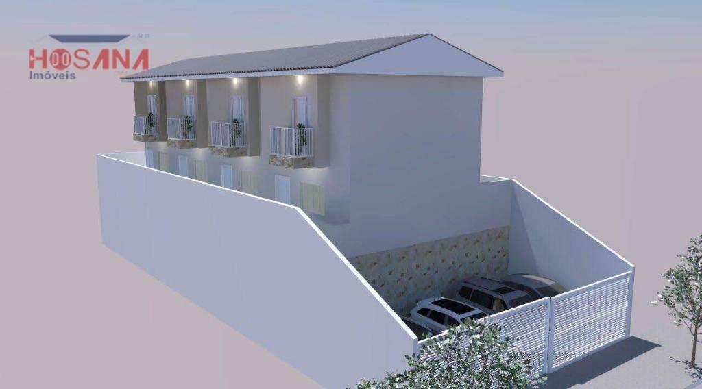 sobrado com 2 dormitórios à venda, 55 m² por r$ 170.000 - parque montreal - franco da rocha/sp - so0791