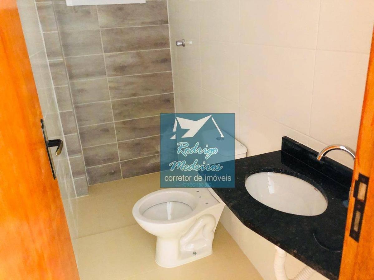 sobrado com 2 dormitórios à venda, 58 m² por r$ 165.000 - jardim anhangüera - praia grande/sp - so0029