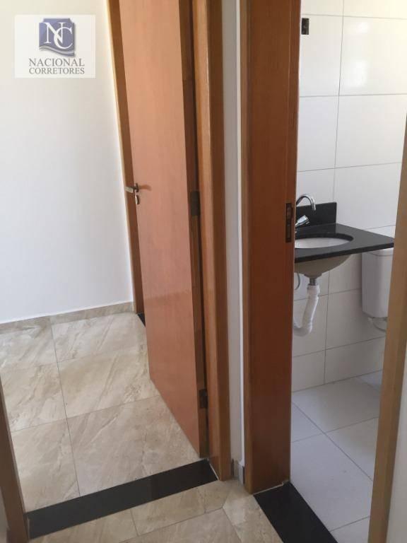 sobrado com 2 dormitórios à venda, 58 m² por r$ 295.000,00 - jardim utinga - santo andré/sp - so3040