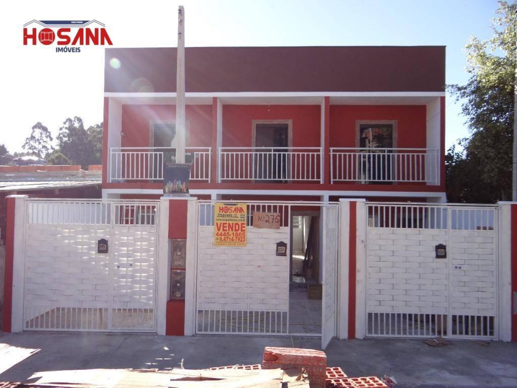 sobrado com 2 dormitórios à venda, 60 m² por r$ 195.000 - parque montreal - franco da rocha/sp - so0924