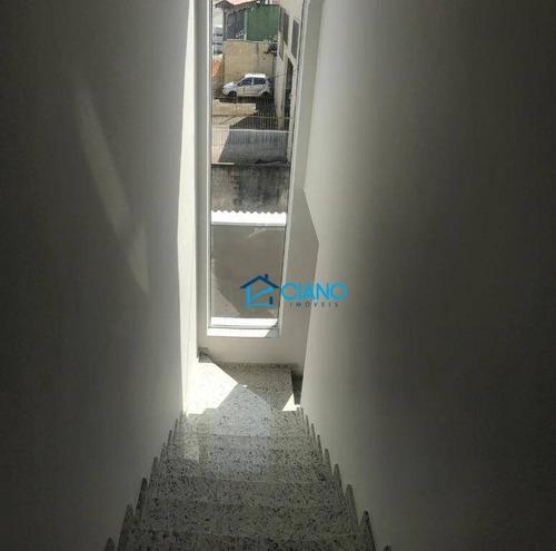 sobrado com 2 dormitórios à venda, 62 m² por r$ 350.000 - vila ré - são paulo/sp - so0189