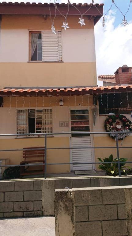 sobrado com 2 dormitórios à venda, 65 m² por r$ 300.000 - parque dourado - ferraz de vasconcelos/sp - so2684