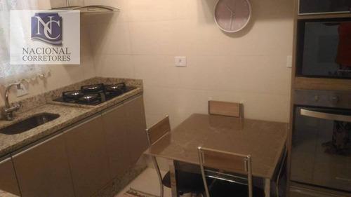 sobrado com 2 dormitórios à venda, 66 m² por r$ 295.000 - vila alto de santo andré - santo andré/sp - so2972