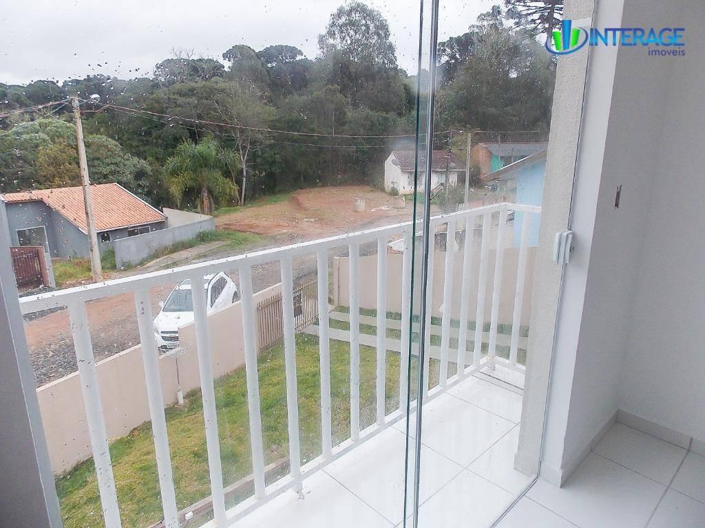 sobrado com 2 dormitórios à venda, 68 m² por r$ 185.000 - jardim três rios - campo largo/pr - so0189