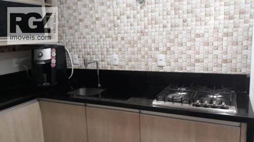 sobrado com 2 dormitórios à venda, 68 m² por r$ 380.000 - macuco - santos/sp - so0121