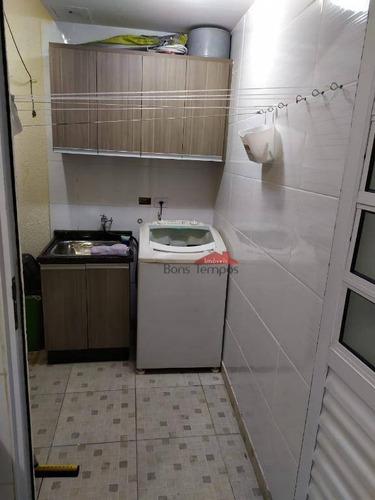 sobrado com 2 dormitórios à venda, 70 m² por r$ 350.000 - vila granada - são paulo/sp - so2737