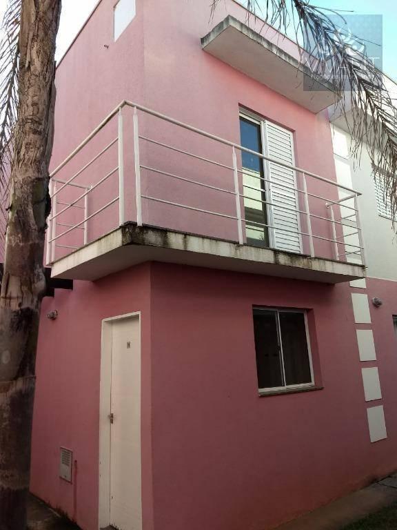 sobrado com 2 dormitórios à venda, 71 m² por r$ 200.000,00 - jundiapeba - mogi das cruzes/sp - so0163
