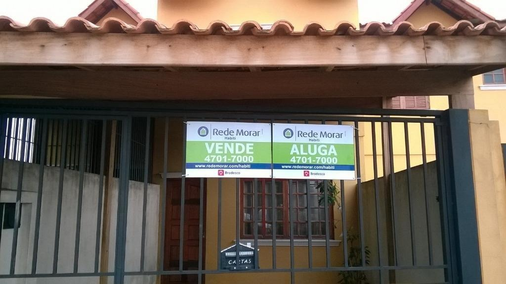 sobrado com 2 dormitórios à venda, 75 m² por r$ 350.000 - arraial paulista - taboão da serra/sp - so0233