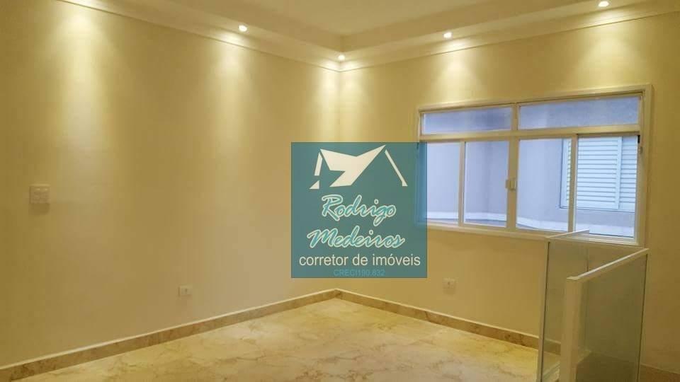 sobrado com 2 dormitórios à venda, 80 m² por r$ 230.000,00 - tude bastos (sítio do campo) - praia grande/sp - so0032