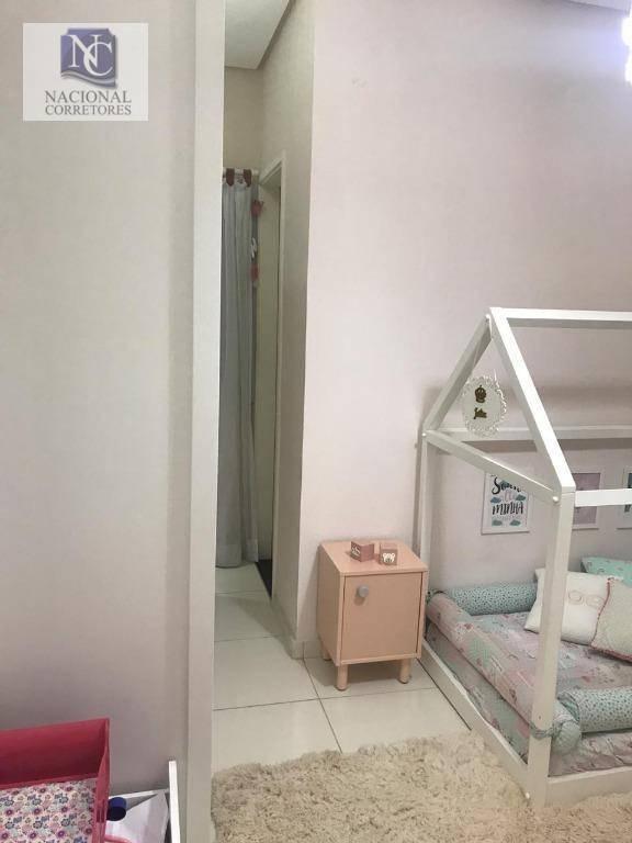 sobrado com 2 dormitórios à venda, 88 m² por r$ 350.000 - parque oratório - santo andré/sp - so3257