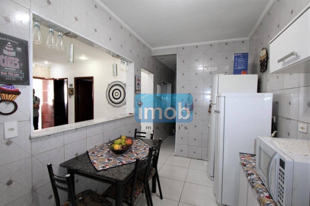 sobrado com 2 dormitórios à venda, 90 m² por r$ 640.000 - marapé - santos/sp - so0478