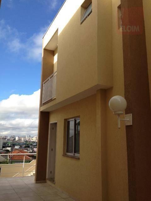 sobrado com 2 dormitórios à venda por r$ 299.000 - vila alpina - são paulo/sp - so3238