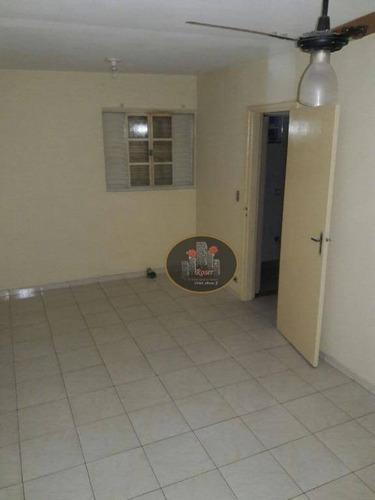 sobrado com 2 dormitórios à venda por r$ 320.000 - vila são jorge - são vicente/sp - so0099
