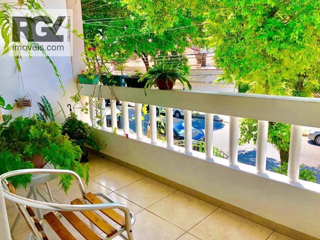 sobrado com 2 dormitórios à venda por r$ 335.000 - marapé - santos/sp - so0100