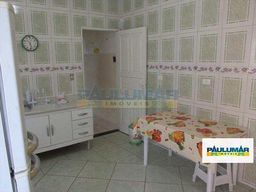 sobrado com 2 dorms, vila atlântica, mongaguá - r$ 250 mil, cod: 11907 - v11907