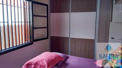 sobrado com 2 dorms, vila ferreira, itaquaquecetuba - r$ 280.000,00, 130m² - codigo: 822 - v822