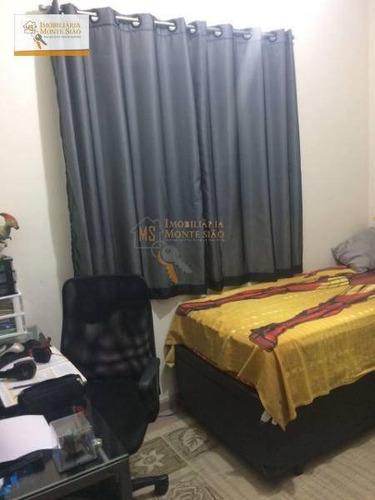 sobrado com 3 dormitórios, 200 m² - jardim bela vista - guarulhos/sp - so0094