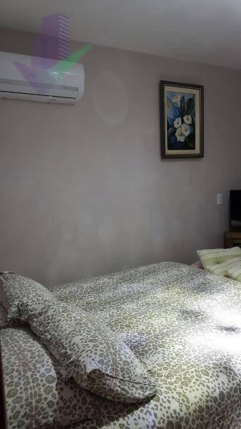 sobrado com 3 dormitórios para alugar, 109 m² por r$ 1.200/dia - rosa dos ventos - itapoá/sc - so0088