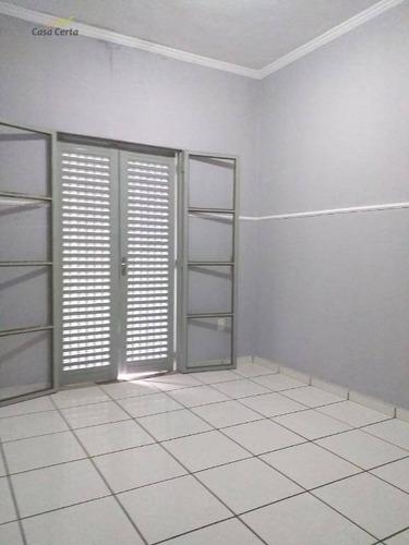 sobrado com 3 dormitórios para alugar, 110 m² por r$ 1.550,00/mês - jardim guaçuano - mogi guaçu/sp - so0101