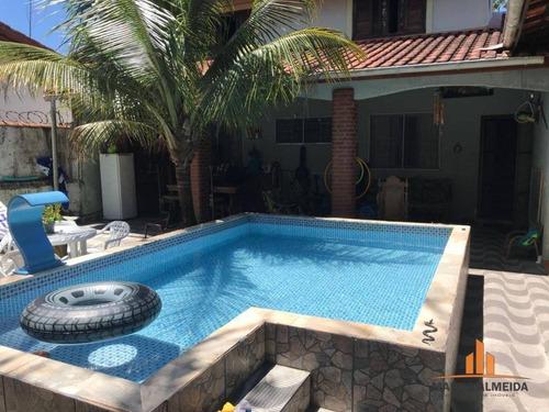 sobrado com 3 dormitórios à venda, 100 m² por r$ 270.000 - grandesp - itanhaém/sp - so0025