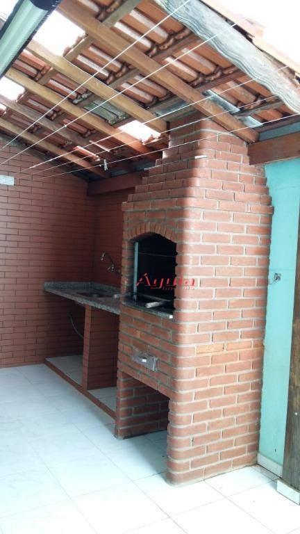 sobrado com 3 dormitórios à venda, 100 m² por r$ 499.000 - vila metalúrgica - santo andré/sp - so1215