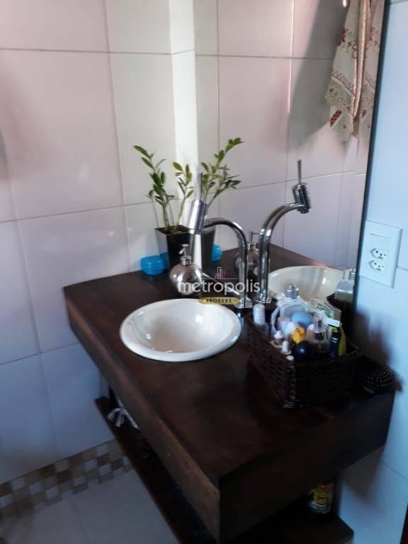sobrado com 3 dormitórios à venda, 102 m² por r$ 640.000,00 - fundação - são caetano do sul/sp - so0730