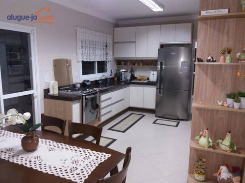 sobrado com 3 dormitórios à venda, 110 m² por r$ 490.000,00 - jardim das indústrias - são josé dos campos/sp - so0906