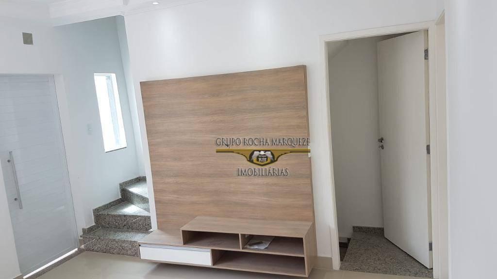 sobrado com 3 dormitórios à venda, 110 m² por r$ 568.000,00 - vila carrão - são paulo/sp - so1332