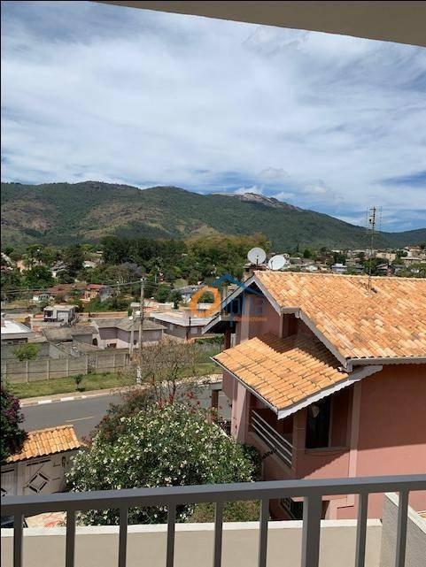 sobrado com 3 dormitórios à venda, 111 m² por r$ 440.000,00 - jardim maristela - atibaia/sp - so0248