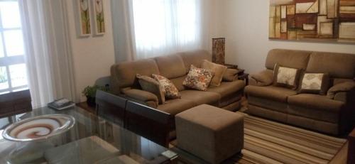 sobrado com 3 dormitórios à venda, 120 m² - demarchi - são bernardo do campo/sp - so18859