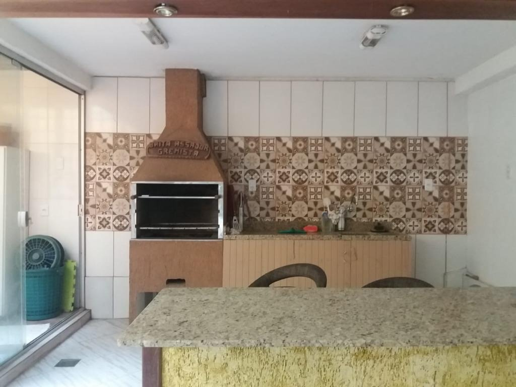 sobrado com 3 dormitórios à venda, 124 m² por r$ 380.000 - guarujá - porto alegre/rs - so0119