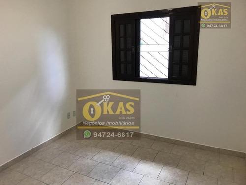 sobrado com 3 dormitórios à venda, 125 m² por r$ 420.000 - vila lavínia - mogi das cruzes/sp - so0164