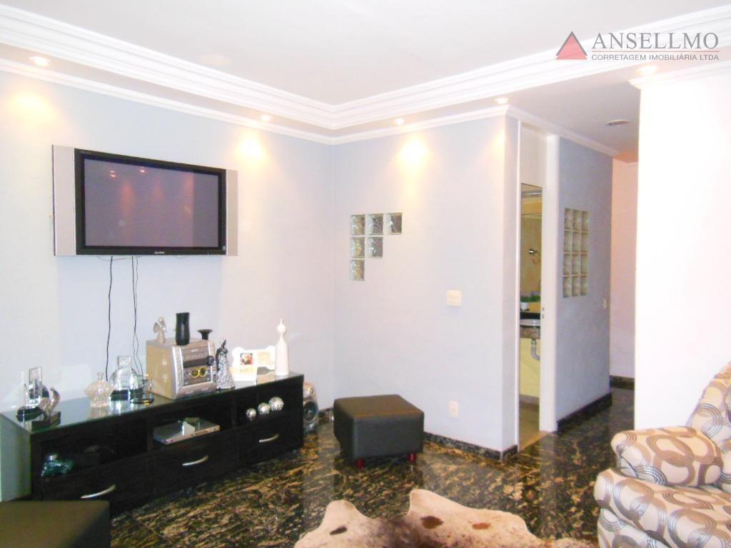 sobrado com 3 dormitórios à venda, 128 m² por r$ 870.000,00 - demarchi - são bernardo do campo/sp - so0382
