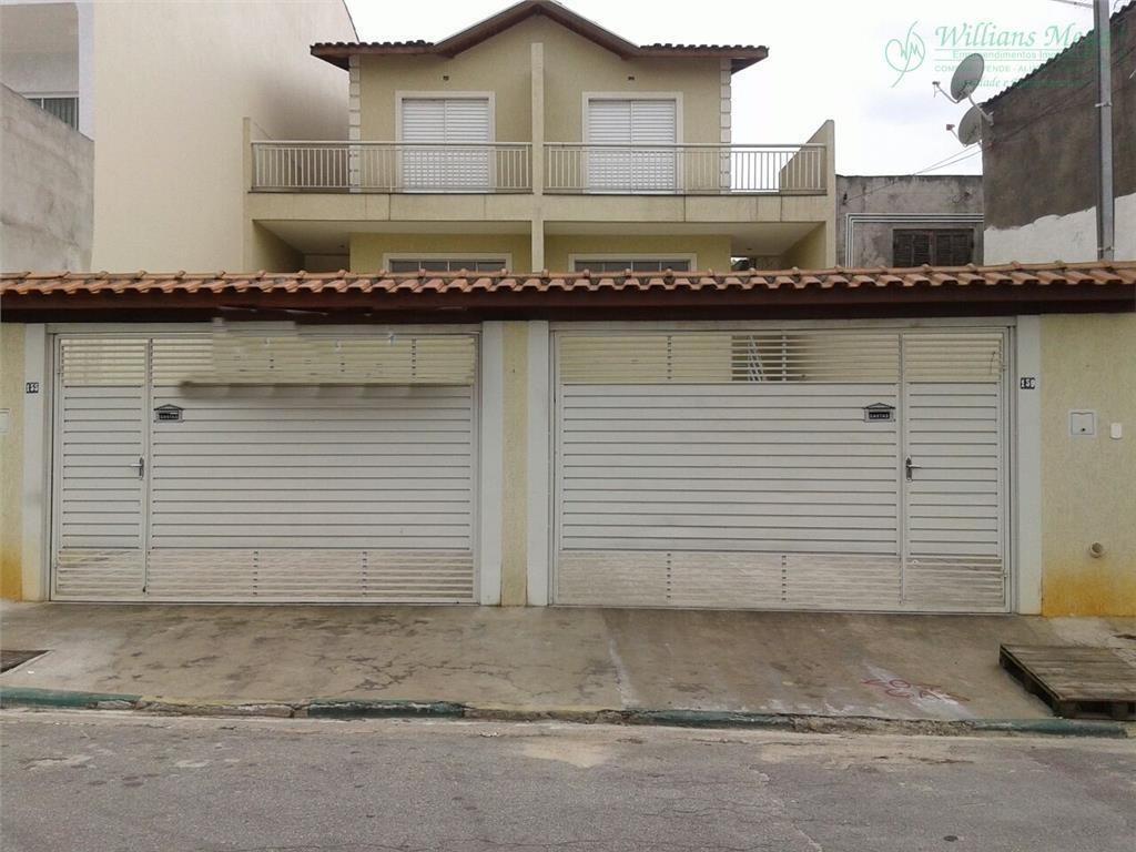 sobrado com 3 dormitórios à venda, 130 m² por r$ 430.000 - jardim leila - guarulhos/sp - so0594