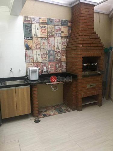 sobrado com 3 dormitórios à venda, 130 m²  - vila carrão - são paulo/sp - so7002
