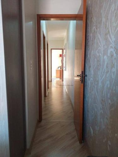 sobrado com 3 dormitórios à venda, 132 m² por r$ 570.000 - jardim independência - são bernardo do campo/sp - so0578