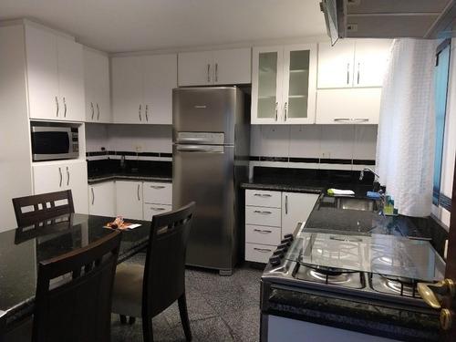 sobrado com 3 dormitórios à venda, 133 m² - demarchi - são bernardo do campo/sp - so19585