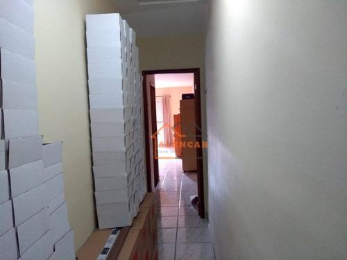 sobrado com 3 dormitórios à venda, 139 m² por r$ 397.000,00 - cidade líder - são paulo/sp - so0114