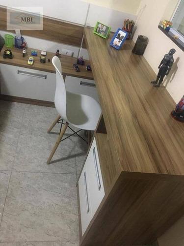 sobrado com 3 dormitórios à venda, 144 m² por r$ 850.000 - vila carrão - são paulo/sp - so0260