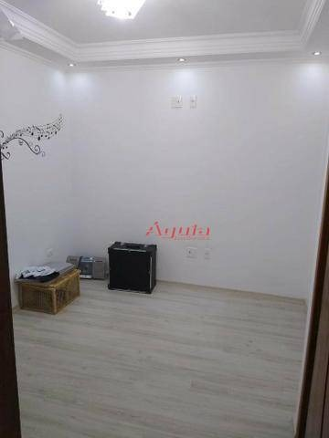 sobrado com 3 dormitórios à venda, 147 m² por r$ 583.000,00 - vila camilópolis - santo andré/sp - so1131