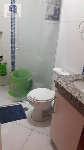 sobrado com 3 dormitórios à venda, 150 m² por r$ 600.000 - vila camilópolis - santo andré/sp - so3400