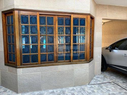 sobrado com 3 dormitórios à venda, 152 m² por r$ 560.000,00 - vila camilópolis - santo andré/sp - so1921