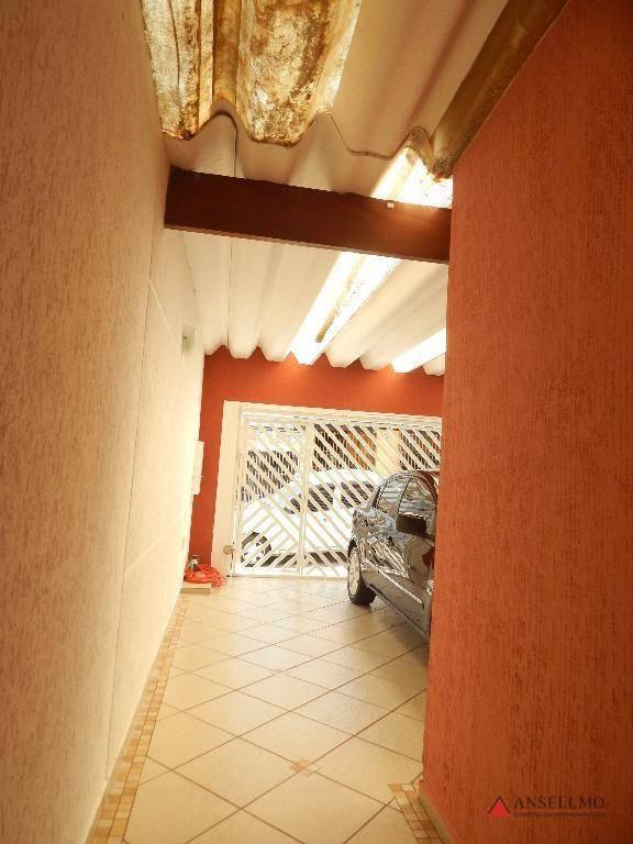 sobrado com 3 dormitórios à venda, 157 m² por r$ 550.000,00 - nova petrópolis - são bernardo do campo/sp - so0765