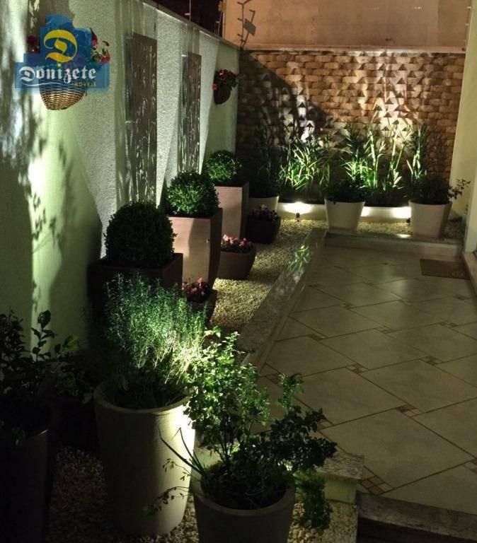 sobrado com 3 dormitórios à venda, 178 m² por r$ 900.000,00 - jardim bela vista - santo andré/sp - so2038