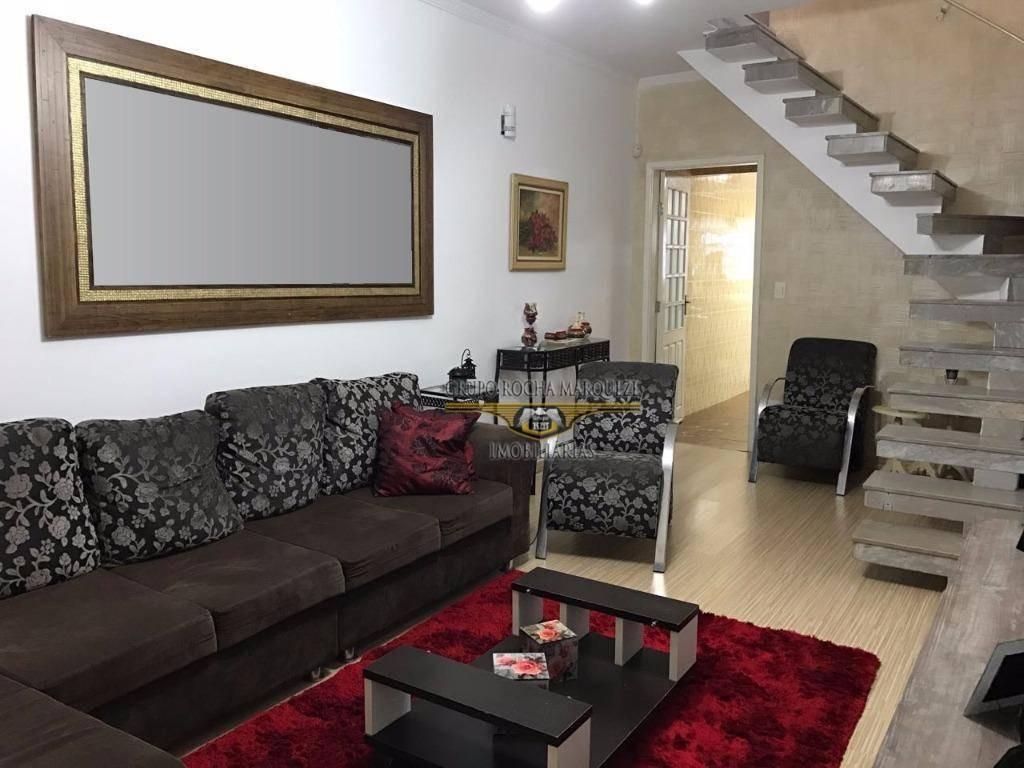 sobrado com 3 dormitórios à venda, 180 m² por r$ 450.000,00 - jardim vila formosa - são paulo/sp - so0626